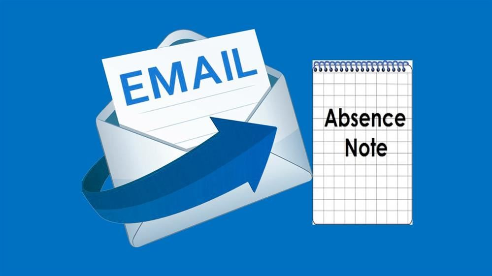 Email Absence Excuses to the Office