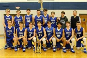Jr. Varsity Boys Basketball Team